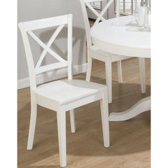 Buy Jofran Casper White Side Chair on sale online