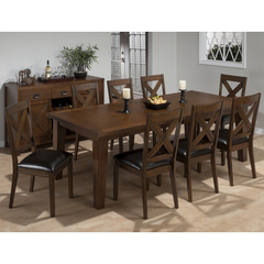 Buy Jofran Cirrus Oak 9 Piece 72x42 Dining Room Set on sale online