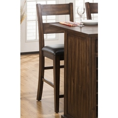 Buy Cooke County 43 Inch Counter Height Stool in Brown on sale online