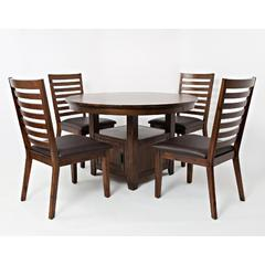 Buy Jofran Coolidge Corner 5 Piece 48x48 Dining Room Set on sale online