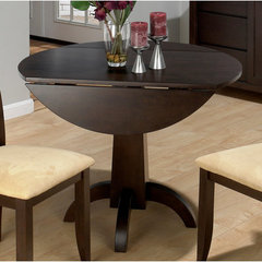 Buy Jofran Dark Chianti Double Drop Leaf 40x24 Dining Table on sale online