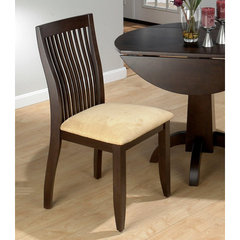 Buy Jofran Dark Chianti Vertical Slatback Shaped Side Chair on sale online