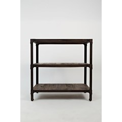 Buy Jofran Franklin Forge 30 Inch Bookcase in Medium Wood on sale online