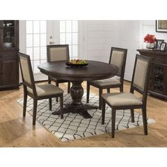 Buy Jofran Geneva Hills 5 Piece 60x48 Round To Oval Dining Room Set on sale online