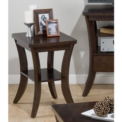 Buy Jofran Joes Espresso 22x16 Chairside Table on sale online