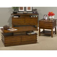 Buy Jofran Kenmore Birch 48x26 Rectangular Occasional Table Set in Brown on sale online