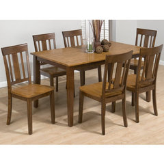 Buy Jofran Kura Canyon 7 Piece 60x36 Dining Room Set on sale online