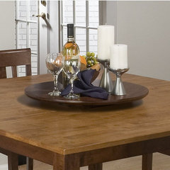Buy Jofran Jofran Kura Canyon Lazy Susan in Kura Espresso on sale online