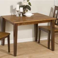 Buy Jofran Kura Canyon Solid Rubberwood Rectangle 42x30 Dining Table on sale online