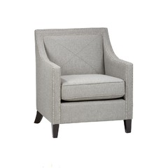 Buy Jofran Luca Transitional Club Chair in Ash on sale online