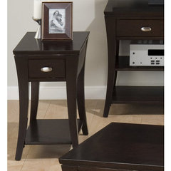Buy Jofran Manhattan 22x14 Chairside Table on sale online