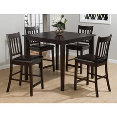 Buy Jofran Marin County Merlot 5 Piece 42x42 Counter Height Set on sale online