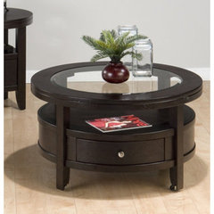Buy Jofran Marlon Wenge Round 36x36 Cocktail Table on sale online