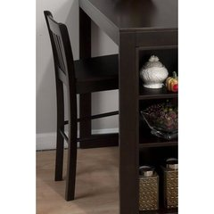 Buy Jofran Maryland Merlot Slat Back 26 Inch Counter Height Stool in Merlot, Dark Wood on sale online