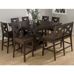 Buy Jofran Morgan 8 Piece Counter Height Set w/ Bench on sale online