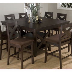 Buy Jofran Morgan Butterfly Leaf 60x60 Counter Height Table on sale online