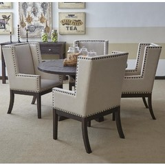 Buy Jofran Pacific Heights 5 Piece 52x52 Round Dining Room Set on sale online