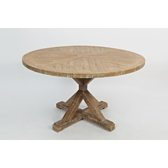 Buy Jofran Pacific Heights 52x52 Round Dining Table in Bisque on sale online