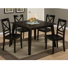 Buy Jofran Roasted Java 5 Piece 42x42 Square Dining Room Set on sale online