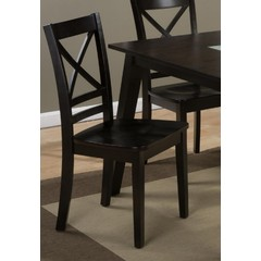 Buy Jofran Roasted Java X-Back Side Chair on sale online