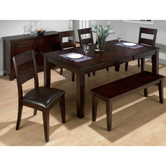 Buy Jofran Rustic Prairie 6 Piece 60x42 Dining Room Set w/ Bench on sale online