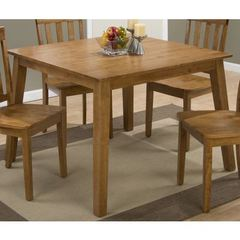 Buy Jofran Simplicity Honey Square 42x42 Dining Table in Honey on sale online