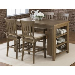 Buy Jofran Slater Mill 5 Piece 60x30 Counter Height Set on sale online