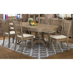Buy Jofran Slater Mill 7 Piece 96x42 Dining Room Set on sale online
