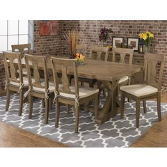 Buy Jofran Slater Mill 9 Piece 96x42 Dining Room Set on sale online