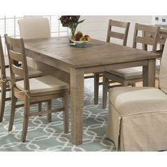 Buy Jofran Slater Mill Pine 72x42 Rectangular Dining Table w/ Extension Leaf on sale online