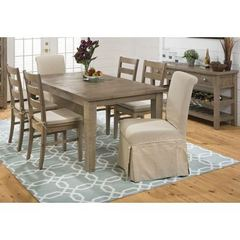 Buy Jofran Slater Mill Pine 8 Piece 72x42 Rectangular Dining Room Set w/ Server on sale online