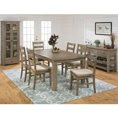 Buy Jofran Slater Mill Pine 9 Piece 72x42 Dining Room Set on sale online