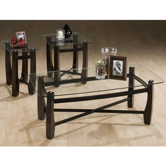 Buy Jofran Tania Espresso 3 Piece Occasional Table Set on sale online