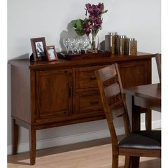 Buy Jofran Taylor Cherry 54x19 Rectangular Dining Room Server on sale online