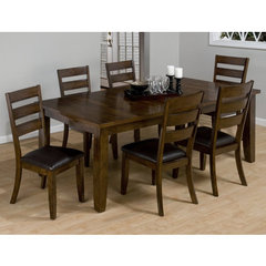Buy Jofran Taylor Cherry 7 Piece 66x42 Dining Room Set on sale online