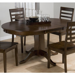 Buy Jofran Taylor Cherry 42x42 Round To Oval Dining Table on sale online
