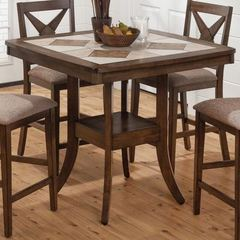 Buy Jofran Tucson Brown 40x40 Square Counter Height Table on sale online