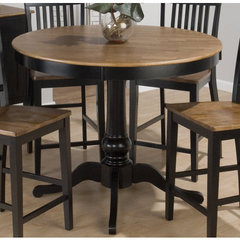 Buy Jofran Vintage Black 48x48 Round Counter Height Table on sale online
