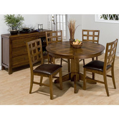 Buy Jofran Wenatchee Falls Walnut 5 Piece Dining Room Set on sale online