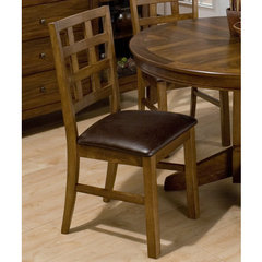 Buy Jofran Wenatchee Falls Walnut Giga Gridback Side Chair on sale online