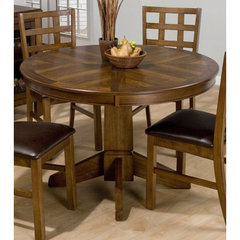 Buy Jofran Wenatchee Falls Walnut 48x48 Round Dining Table w/ Butterfly Leaf on sale online