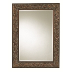 Buy Cooper Classics Joliet 45x33 Mirror in Tarnished Copper on sale online