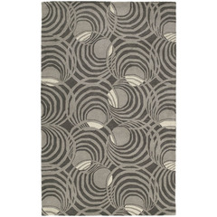 Buy Kaleen Astronomy Rectangle Area Rug in Graphite - LUNAR-04 on sale online