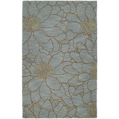 Buy Kaleen Carriage Area Rug in Azure - CITY PARK-04 on sale online