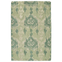 Buy Kaleen Casual Rectangle Area Rug in Seafoam - 5055-104  on sale online