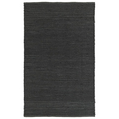 Buy Kaleen Colinas Rectangle Area Rug in Charcoal - COL01-38 on sale online