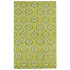Buy Kaleen Glam Rectangle Area Rug in Wasabi - GLA08-70 on sale online
