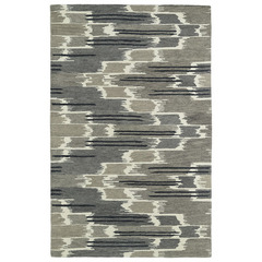 Buy Kaleen Global Inspirations Rectangle Area Rug in Grey - GLB02-75 on sale online