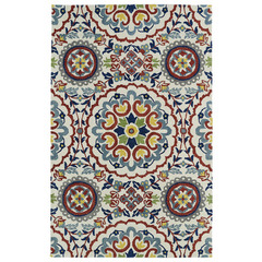 Buy Kaleen Global Inspirations Rectangle Area Rug in Ivory - GLB08-01 on sale online