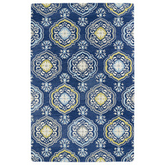 Buy Kaleen Helena Rectangle Area Rug in Blue - 3211-17 on sale online